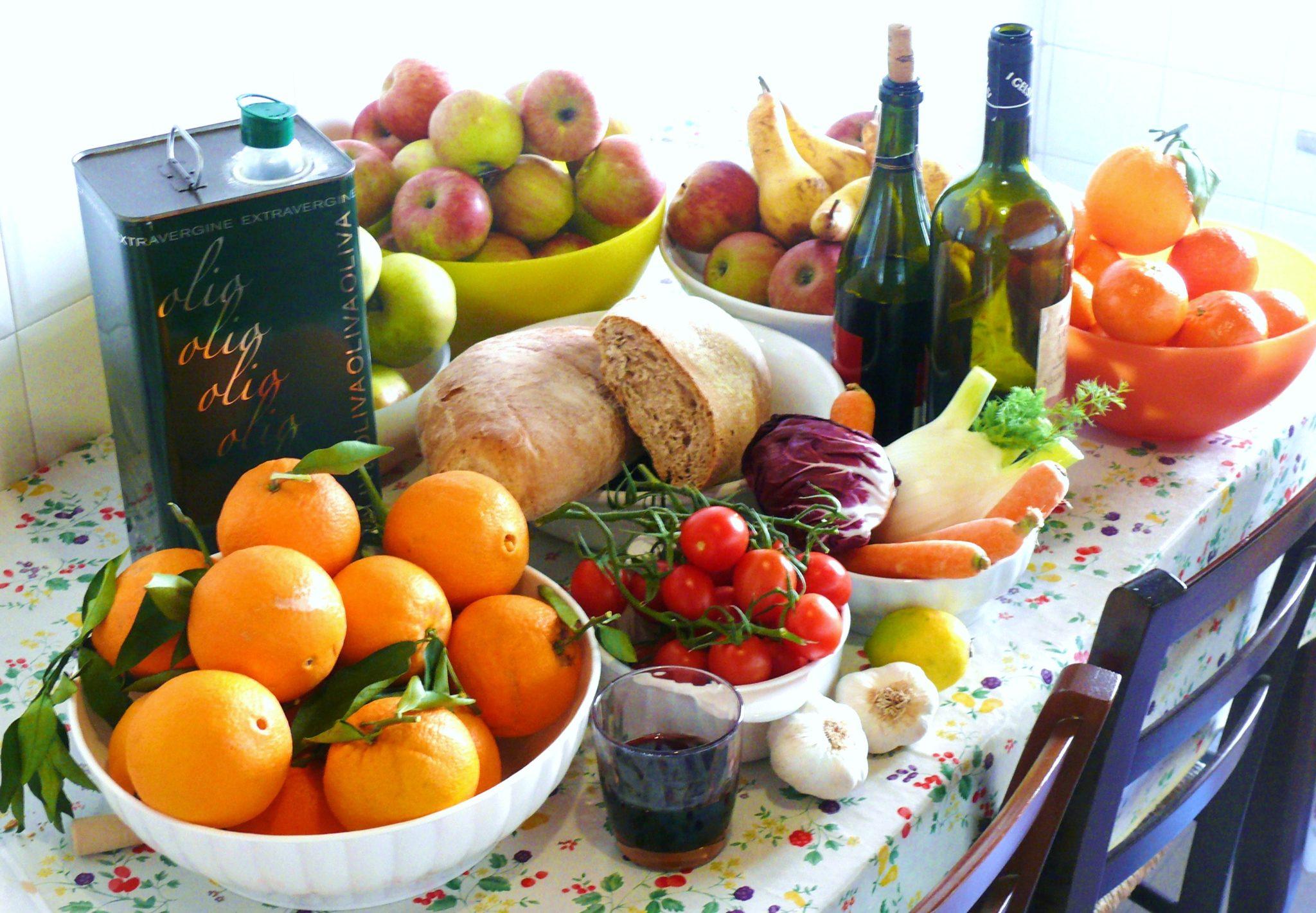 caprii studio dieta mediterranea bambini